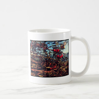 barbed wire fence coffee mugs