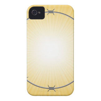 barbed wire frame Case-Mate iPhone 4 case
