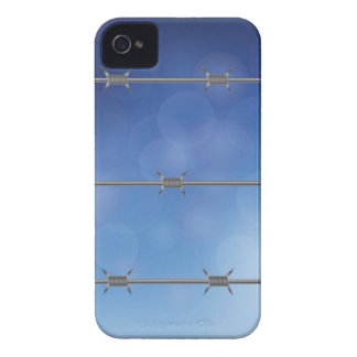 barbed wire iPhone 4 cover