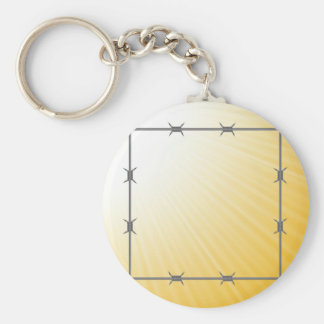 barbed wire key ring