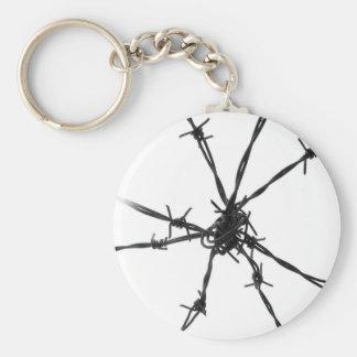 Barbed Wire Keychains