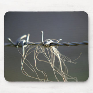 Barbed wire mouse pads