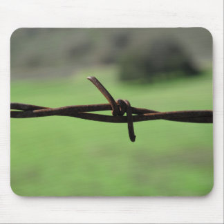 Barbed Wire Mousepad