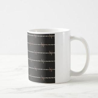 Barbed Wire Basic White Mug