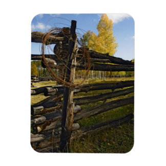 Barbed Wire Rectangular Photo Magnet