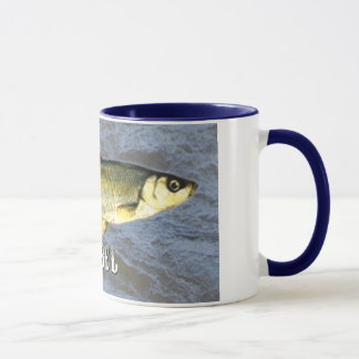 Barbel Freshwater Fish, With Water Background Mug