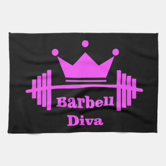 Barbell Diva Gym Towel
