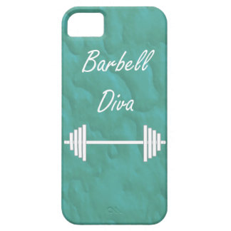 Barbell Diva iPhone 5/5s Barely There Case