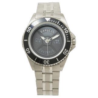 Barbell Plate Wrist Watch