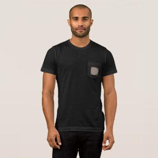 Barbell Script patch designed pocket T-Shirt