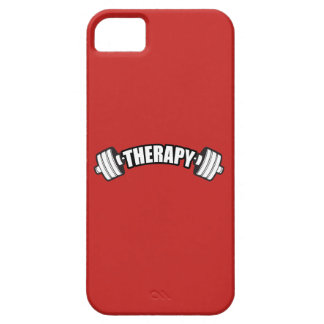 Barbell - THERAPY - Workout Inspirational Barely There iPhone 5 Case