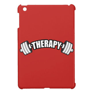 Barbell - THERAPY - Workout Inspirational Cover For The iPad Mini