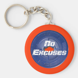 Barbell Weight  Items Key Chain