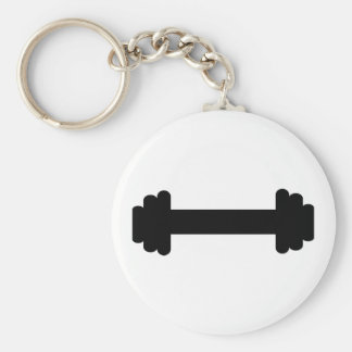 Barbell – weightlifting keychains