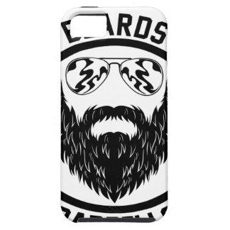 barbells beards tough iPhone 5 case