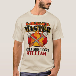 Barbeque Master Personalized T-Shirt