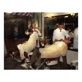Barber - A time honored tradition 1941 21.5 Cm X 28 Cm Flyer