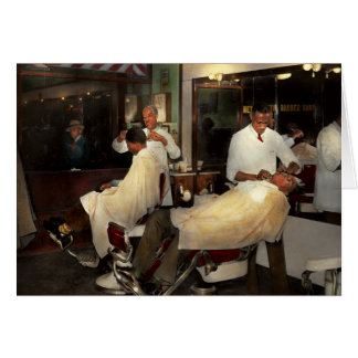 Barber - A time honored tradition 1941 Card