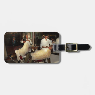 Barber - A time honored tradition 1941 Luggage Tag