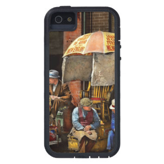 Barber - At Nelson's Barber Shop 1937 iPhone 5 Cases