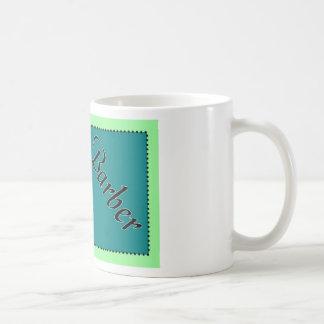Barber Business Cards Basic White Mug