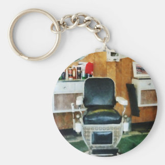 Barber Chair Front View Key Ring