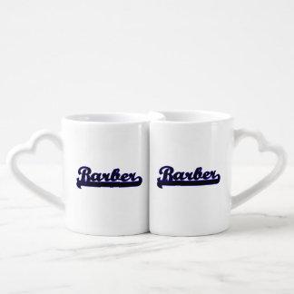 Barber Classic Job Design Lovers Mug Sets