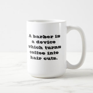 Barber coffee cup