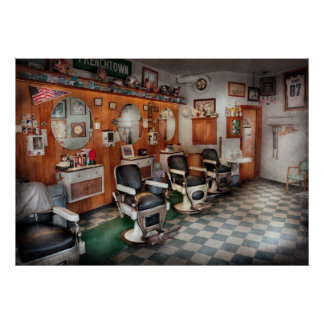 Barber - Frenchtown Barbers Posters