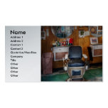 Barber - Frenchtown, NJ - Two old barber chairs Pack Of Standard Business Cards