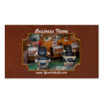 Barber - Frenchtown, NJ - Two old barber chairs Business Card Templates
