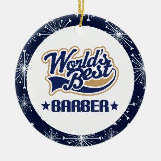 Barber Gift Ornament