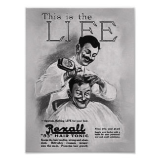 Barber Grooming Poster