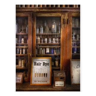 Barber - Hair Dye Flyer Design