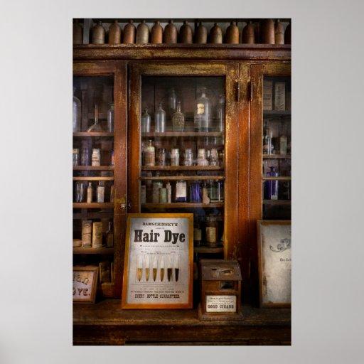 Barber - Hair Dye Poster