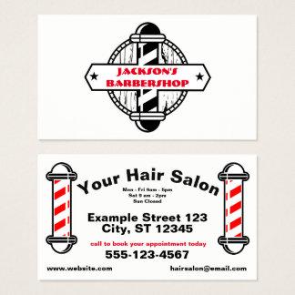 Barber Hairstylist | Hair Salon Business Card