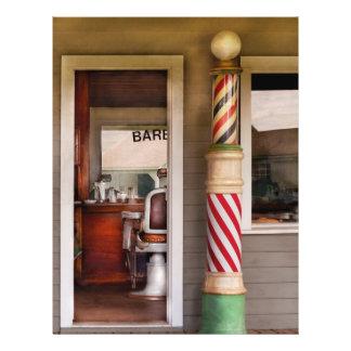 Barber - I need a hair cut 21.5 Cm X 28 Cm Flyer