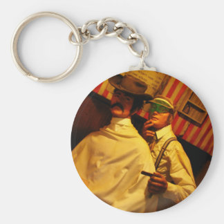 Barber Key Ring