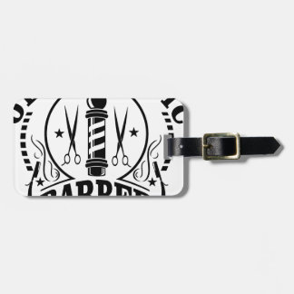 BARBER LUGGAGE TAG