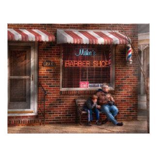 Barber - Metuchen, NJ - Waiting for Mike Full Color Flyer