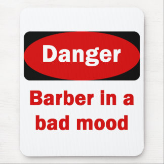 Barber Mouse Pad