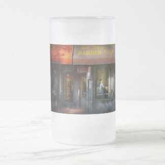 Barber - NY - West Village Barber Shop Coffee Mug