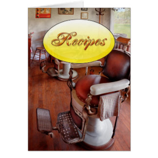 Barber - Please have a seat Greeting Card