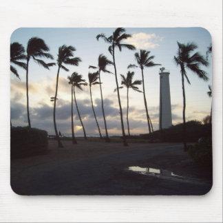 Barber Point Lighthouse, Oahu, Hawaii Mouse Pad