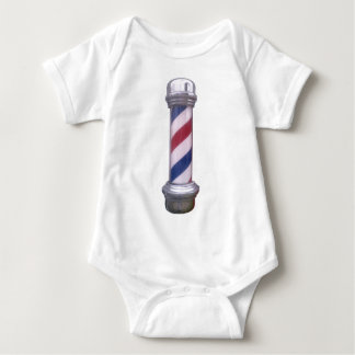 Barber Pole Baby Bodysuit