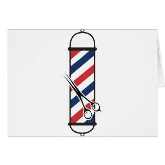 barber pole card
