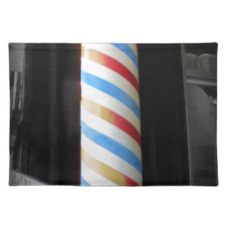 Barber Pole Place Mats