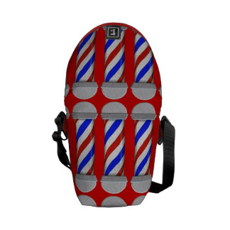 Barber Poles Commuter Bags