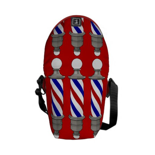 Barber Poles Courier Bags