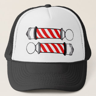 Barber Poles Trucker Hat